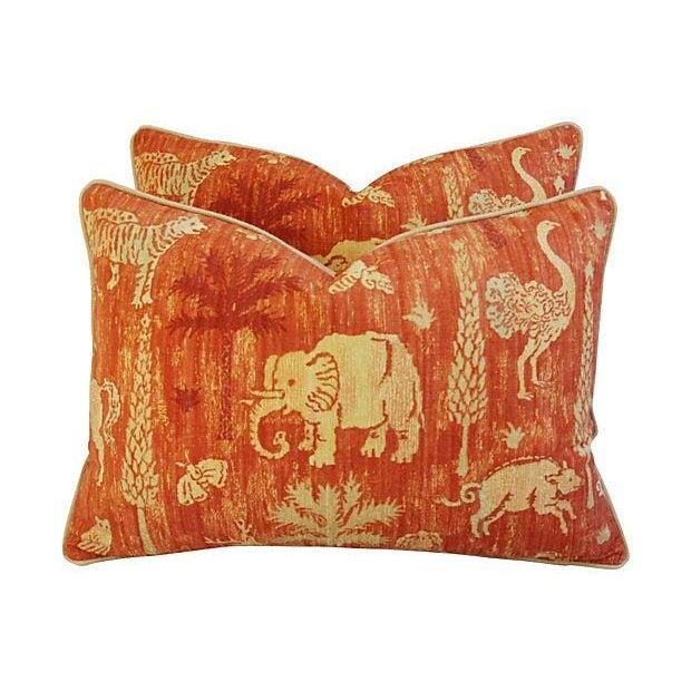 Custom Travers Old World Byzantine Pillows - Pair - Image 4 of 7