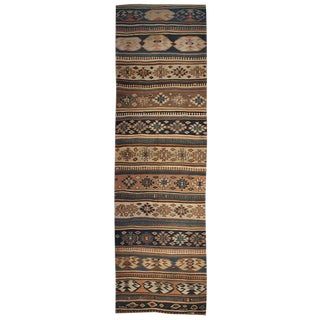 Early 20th Century Persian Azeri Kilim Runner