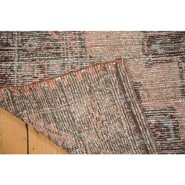 "Distressed 1930s Oushak Runner Rug - 5'3"" x 11'8"" - Image 8 of 8"