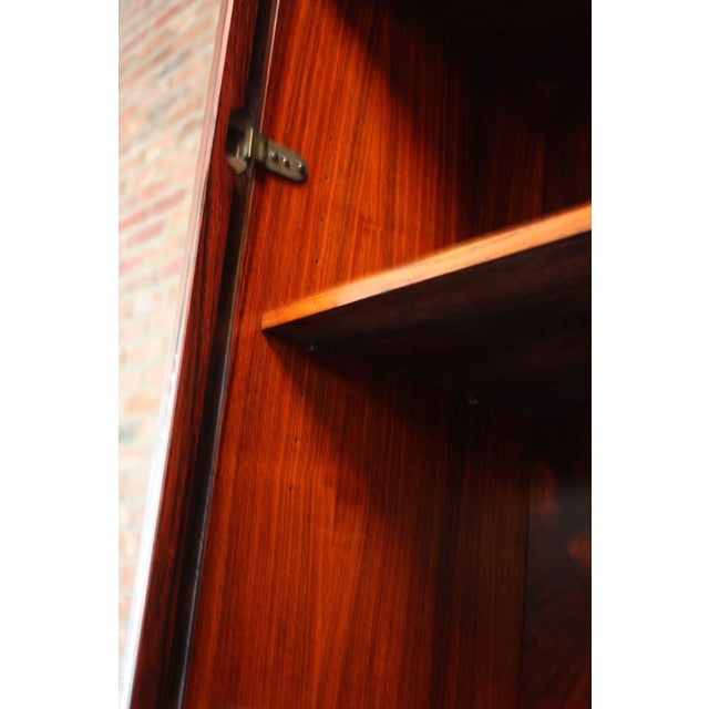 Danish Rosewood Two-Piece Bookcase by Gunni Omann - Image 6 of 8