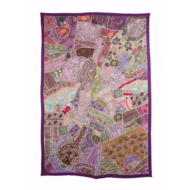 Gujar Multi-Purpose Vintage Purple Panel - Image 1 of 2