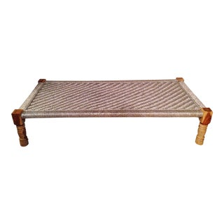 Woven Metallic Day Bed