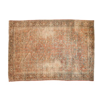 "Vintage Distressed Mahal Carpet - 8'4"" x 11'10"""