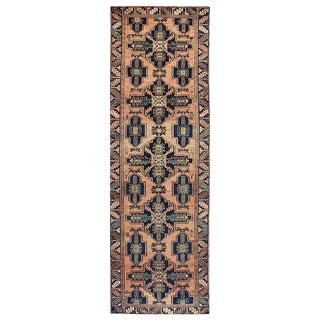 """Vintage Persian Runner Wool Rug - 3'2"""" x 9'5"""""""