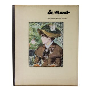Manet: Watercolors and Pastels, First Edition