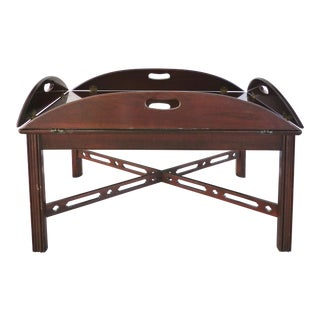 Ethan Allen Butler Tray Coffee Table