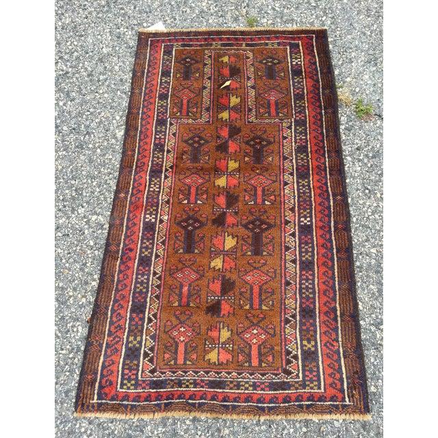 Handmade Persian Baluchi Rug - 2′4″ × 4′5″ - Image 2 of 9