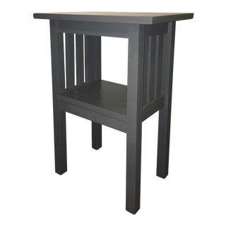 Custom Made of Repurposed Wood Rustic Side Table