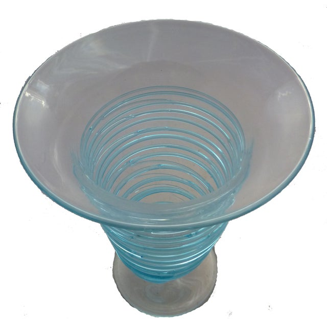 Mid-Century Bohemian Glass Vase - Image 2 of 4