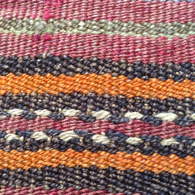 Image of Vintage Multicolor Kilim Pillow Cover