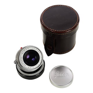 Leitz Wetzlar 50mm f:2.8 Elmar collapsible-Vintage Leica M-Lens-near Mint Made in Germany