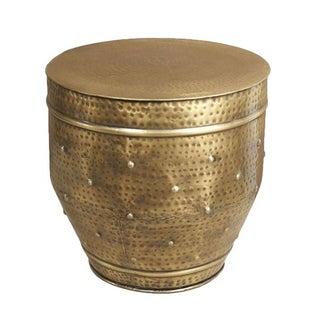 Brass Franz Dot Stool