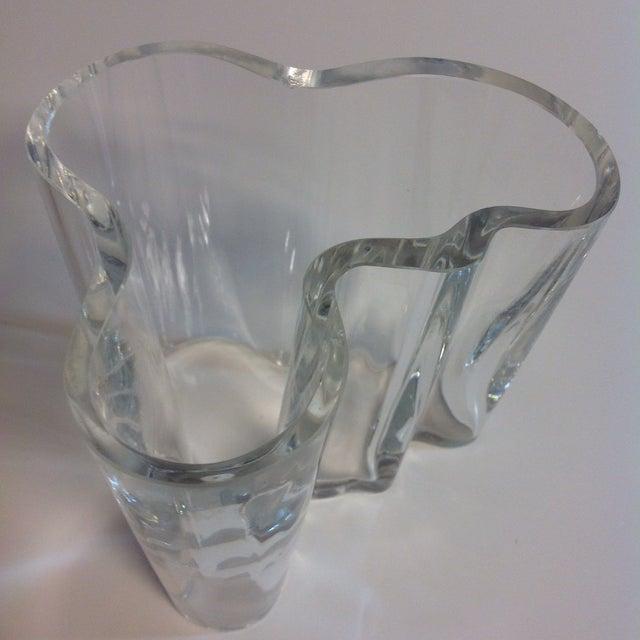Signed Alvar Aalto Crystal Savoy Vase - Image 5 of 7