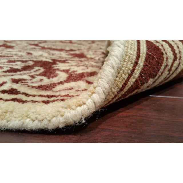 6′ × 9′ Traditional Hand Made Knotted Rug - Size Cat. 6x9 - Image 4 of 4