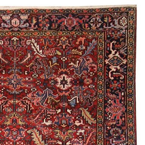 Vintage Persian Heriz Rug - 7′1″ × 8′10″ - Image 2 of 2