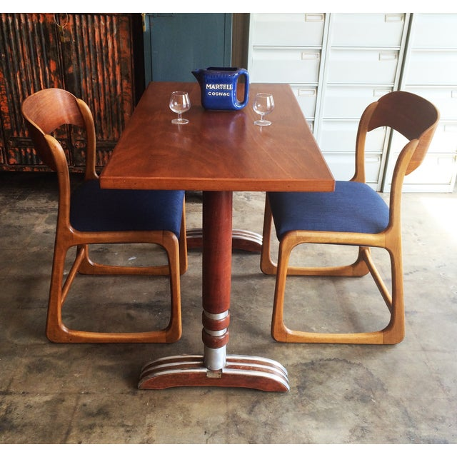 French Art Deco Bistro Dining Table - Image 11 of 11