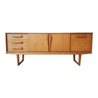 Mid century Danish clear cherrywood buffet
