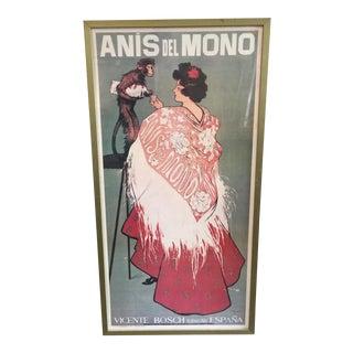 """Vicente Bosch """"Anis Del Mono"""" Spain Print"""