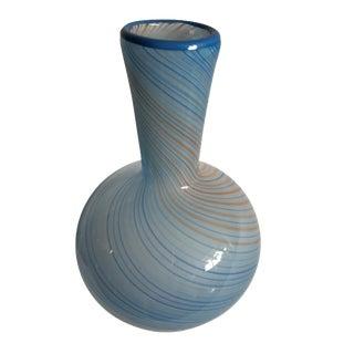 Dansk Swirl Art Glass Vase