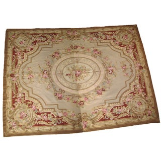 French Aubusson Rug - 8' x 10""