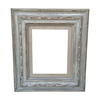 Midcentury Carved Wood Frame