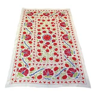 Handmade Pomegranate Pattern Suzani Textile