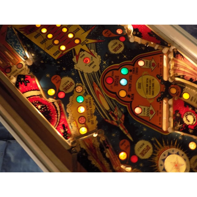 Mid-Century Style Lighted Pinball Coffee Table - Image 3 of 5