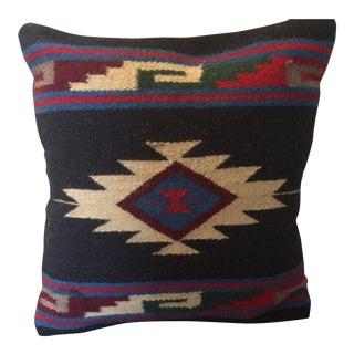 Vintage Navajo Rug Remnant Pillow