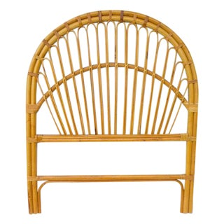 Albini Style Rattan/Bamboo Single Headboard