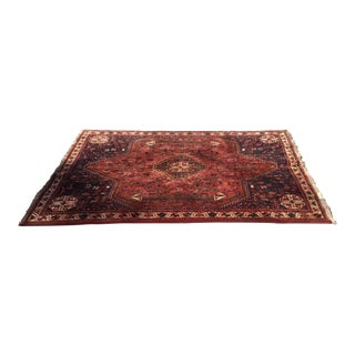 Antique Shiraz Persian Decorative Rug - 6′6″ × 9′6″