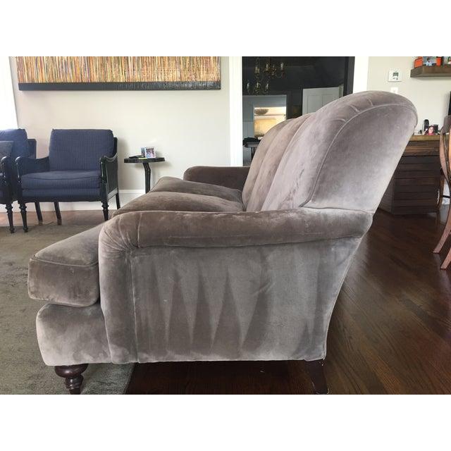 Cotton Velvet Upholstered Rudin Sofa - Image 4 of 4