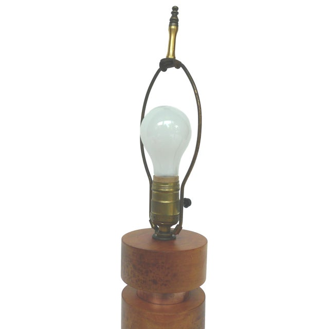 Image of Pair of Midcentury Table Lamps in the Style of Paul Frankl