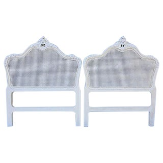 French Style Twin Headboards - A Pair