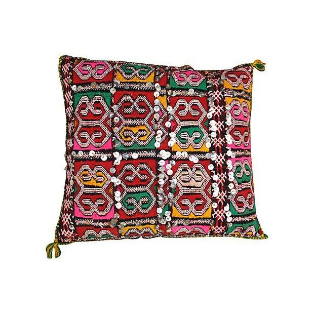Colorful Diamond Moroccan Pillow Sham - Image 1 of 2
