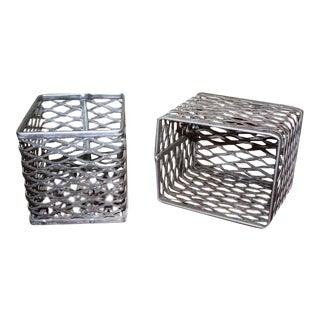 Small Aluminum Wire Bin