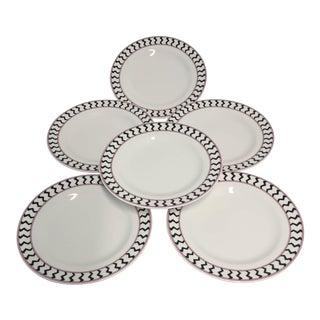"""Set of 6""""MIKASA"""" Dessert/Butter Plates"""