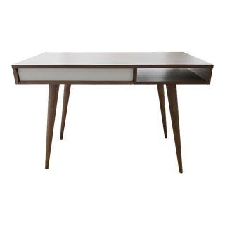 DWR Celine Walnut Desk