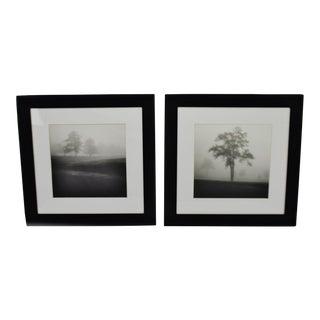 Black & White Ansel Adams Style Framed Prints - A Pair