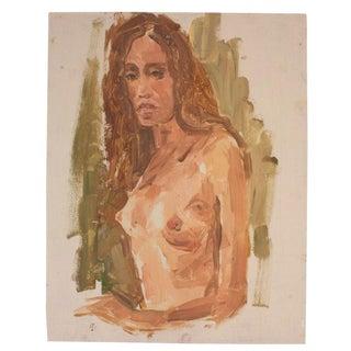 Vintage Original Nude Portrait