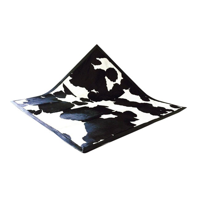 Image of Black & White Cowhide Area Rug
