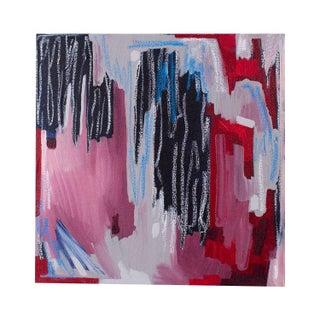 Linda Colletta Rouge Et Bleu II Painting