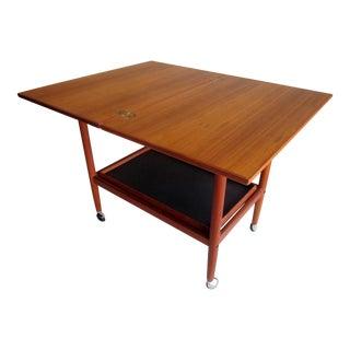 Danish Modern Mid-Century Bar Cart Table