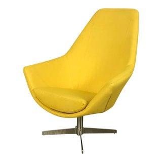 Modani Modern Yellow Lounge Chair