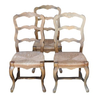 French Country Style Chairs - Set of 3
