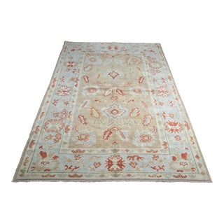 """Bellwether Rugs Contemporary Turkish Oushak Area Rug - 4'4""""x6'9"""""""
