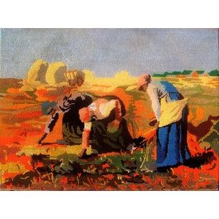 "Millet's Masterpiece ""Potato Harvest"" Tapestry"