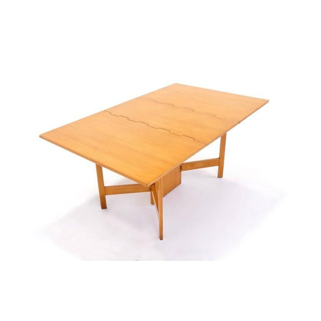 George Nelson for Herman Miller Gate Leg Dining Table Excellent - Image 2 of 10