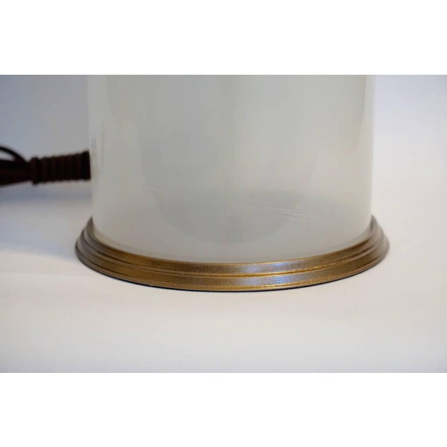 Murano Opaline Table Lamp - Image 5 of 5