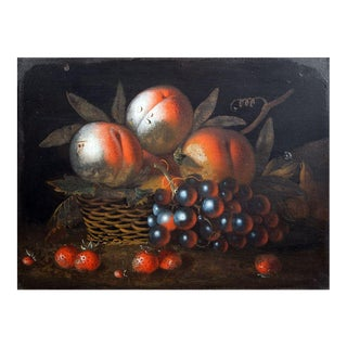 Early 19th-century Tole Still Life Picture