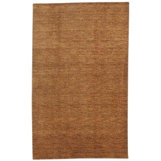"Indian Handmade Rug- 4'10"" x 7'10"""